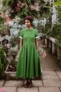 Classic dress, short sleeve Spring Green thumbnail