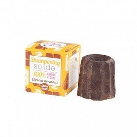 LAMAZUNA sjampobar for normal hair 55g - Chocolate
