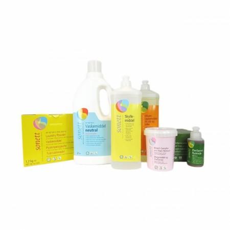 Vaskemidler fra Sonett/ Ecover/ C Soap