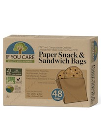 If You Care Sandwich Snacks bags, ubleket