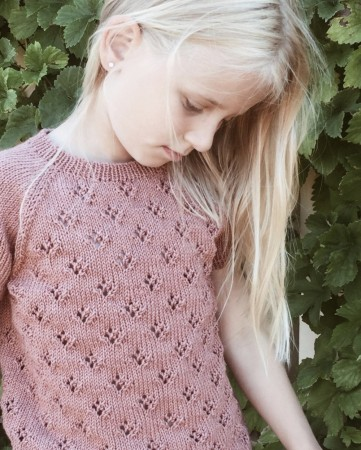Petite Knit Rigmors sommerbluse junior (Norsk)