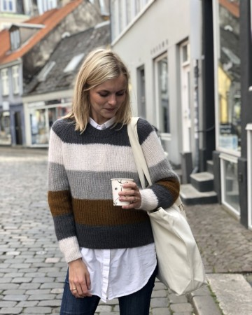 Petite Knit Sekvens Sweater (norsk)