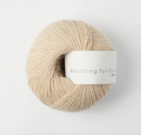 Merino - blid fersken, knitting for olive