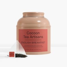 Økologisk English Breakfast fra Cocoon Tea Artisans- Tinnboks