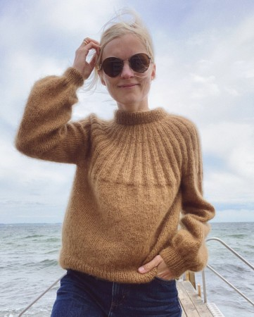Petite knit - Sunday sweater (mohair edition)