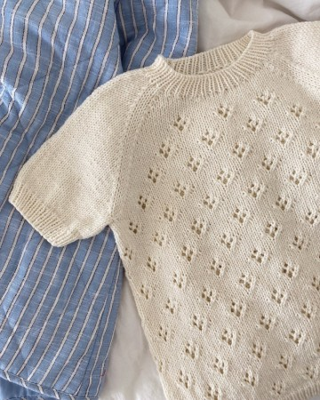 Petite knit - rigmors sommerbluse junior