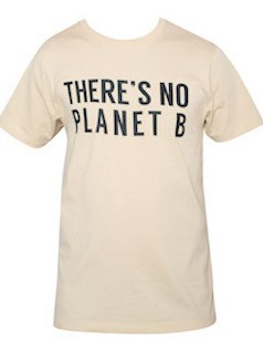 There`s no planet B (beige) størrelse M
