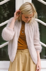 Petite Knit Sunday Cardigan - Mohair Edition (Norsk)