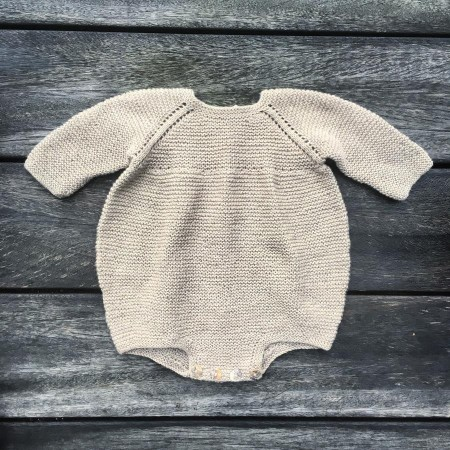 Rettrille-romper - Knitting for Olive