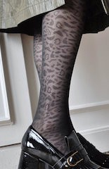 Swedish Stockings Emma Leopard 60den (brun)