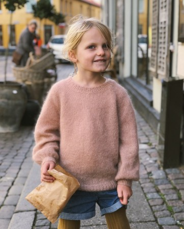 Petite Knit Novice Sweater Junior - Mohair Edition (Norsk)