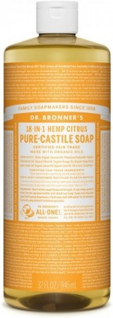 Dr. bronner Pure-Castile Liquid Soap Citrus 473 ml