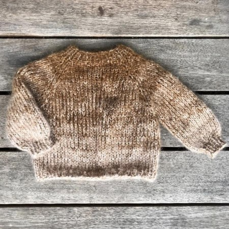 Farveregnsweater til barn - Knitting for Olive