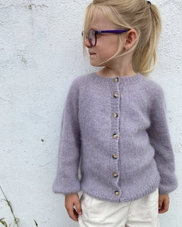 Petite knit - Novice Cardigan Junior (Mohair Edition)