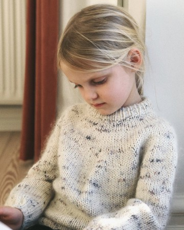 Petite knit - Novice sweater junior (mohair edition)