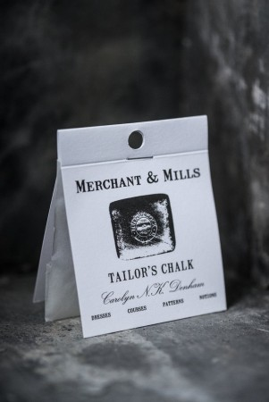 TAILOR'S CHALK - makeringskritt fra Merchant & Mills