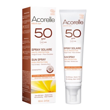 Acorelle Sun Spray SPF 50 – 100ml