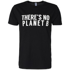 There`s no planet B (Sort)